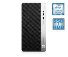 HP namizni računalnik ProDesk 400 G5 MT i5-8500/16GB/SSD256GB+1TB/W10P (4HR53EA#BED)
