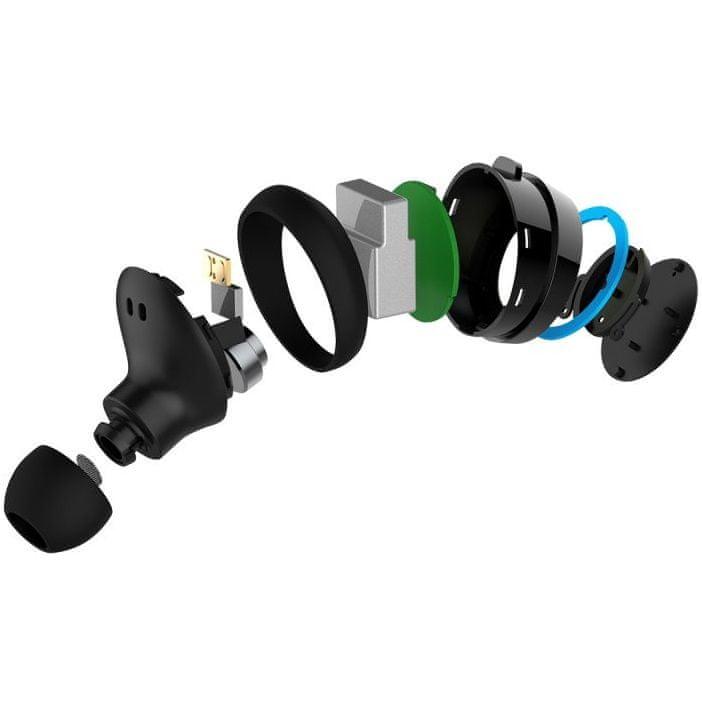 Bezdrátová sluchátka Niceboy HIVE pods silné basy maxxbass technologie