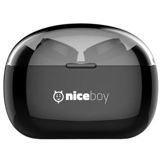 Bezdrátová sluchátka Niceboy HIVE pods dlouhá výdrž baterie 30 h