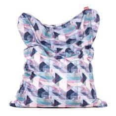 6b439a368b42 TULI Sedací vak Sofa polyester vzor pastel