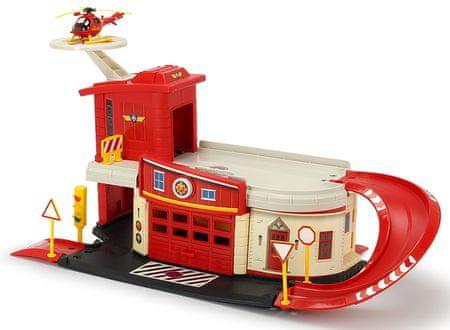 DICKIE Sam tűzoltó, tűzoltó állomás