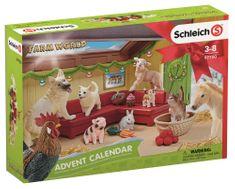 Schleich adventni koledar 2018, Domače živali