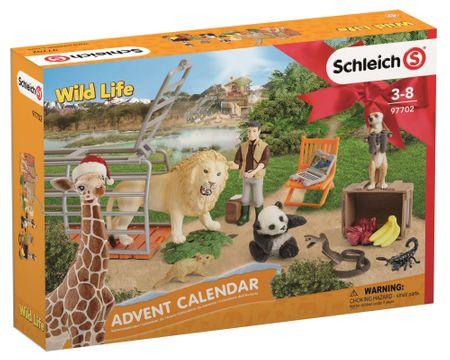 Schleich Adventi naptár 2018 - Vadállatok