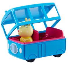 TM Toys Peppa Pig - iskolabusz figurával