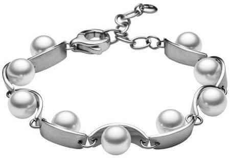Skagen Női nemesacél karkötő gyöngyökkel SKJ0761040