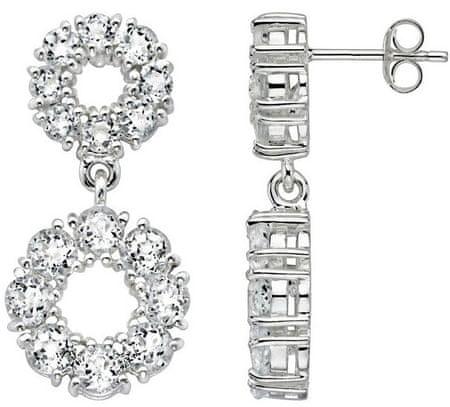 Silvego Női ezüst fülbevaló cirkónia kővel díszítve HHE1178 ezüst 925/1000