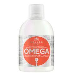 Kallos Regeneračný šampón s omega-6 komplexom a makadamových olejom (Omega Hair Shampoo) 1000 ml