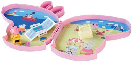 TM Toys Peppa Pig - Pick up & play játék készlet hangokkal - tengerparton