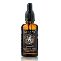 Azbane Cédrusfa és szerecsendió - szakáll- és bajuszápoló argánolaj (Beard Oil) 30 ml