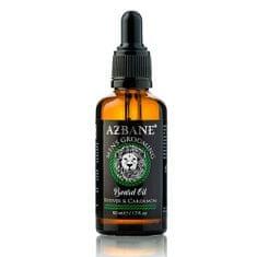 Azbane Ošetrujúci olej na fúzy s arganovým olejom Vetiver a kardamon (Beard Oil) 30 ml