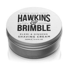 Hawkins & Brimble Hidratáló borotvakrém elemi és ginzeng illattal (Elemi & Ginseng Shaving Cream) 100 ml