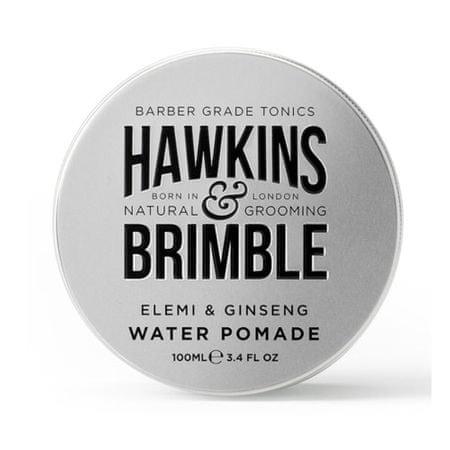 Hawkins & Brimble pomada do włosów na bazie wody o zapachu elemi i żeńszeń (Ginseng elemi i wody Pomade) 100 ml