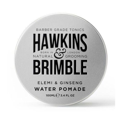 Hawkins & Brimble Pomáda na vlasy na vodnej báze s vôňou elemi a ženšenu (Elemi & Ginseng Water Pomade) 100 ml