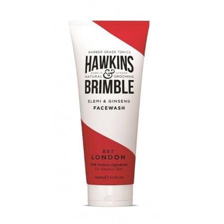Hawkins & Brimble Gyengéd arclemosó gél férfiaknak elemi és ginzeng illattal (Elemi & Ginseng Face Wash) 150 ml