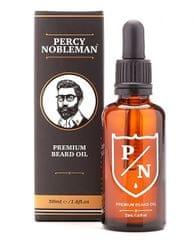 Percy Nobleman Prémiový olej na fúzy (Premium Beard Oil) 50 ml