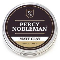 Percy Nobleman Mattító hatású hajwax agyaggal (Matt Clay) 100 ml