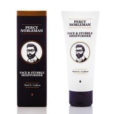 Percy Nobleman Mleczko do twarzy (Face & Stubble Moisturizer) 75 ml