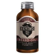 Be-Viro Ošetrujúci olej na fúzy s vôňou cédra, bergamotu a borovice (Beard Oil)