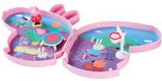 TM Toys Peppa Pig -Pick up & play játék készlet hangokkal - pályán