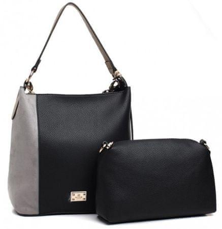 Bessie London Estrella fekete táska