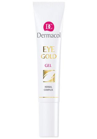 Dermacol Očný gél proti opuchom, únave a kruhom pod očami (Eye Gold Gel) 15 ml