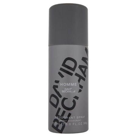 David Beckham Homme - dezodorant w sprayu 150 ml