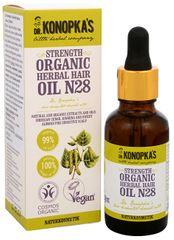 Dr. Konopka´s Bylinný olej na vlasy č. 28 pre posilnenie vlasov 30 ml