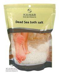 KAWAR Kúpeľová soľ z Mŕtveho mora 1000 g sáčok