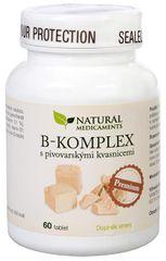 Natural Medicaments B-komplex s pivovarskými kvasnicemi Premium 60 tablet