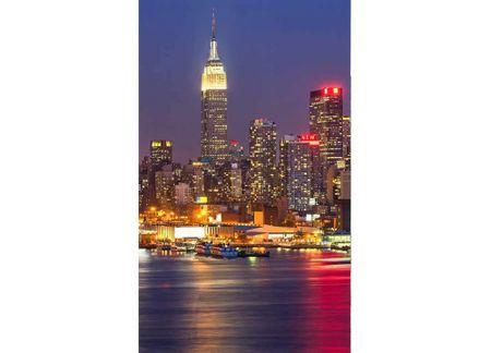 Dimex Fototapeta MS-2-0003 Nočný Manhattan 150 x 250 cm