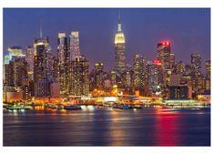 Dimex Fototapeta MS-5-0003 Nočný Manhattan 375 x 250 cm