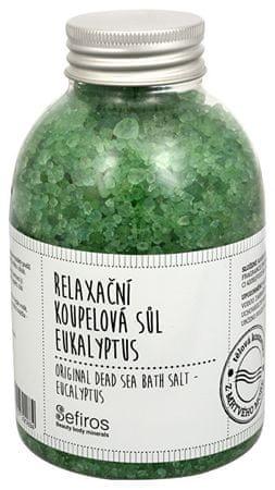 Sefiros Pihenés fürdősó eukaliptusz (eredeti holt-tengeri sófürdő) 500 g
