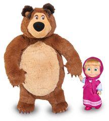 Simba komplet lutk Maša in medved