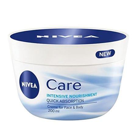 Nivea Výživný krém pre pleť a telo Care (Intensive Nourishment) (Objem 50 ml )