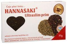 Hannasaki Ultraslim Prim - zmes zeleného a červeného čaju 50 g