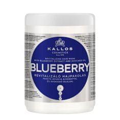 Kallos Revitalizačný maska s výťažkom z čučoriedok (Blueberry Hair Mask)