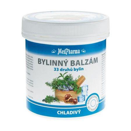 MedPharma Bylinný balzam chladivý 33 druhov bylín 250 ml