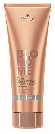 Schwarzkopf Prof. Regenerujący szampon do wyróżniania chłodne odcienie blond BLONDME (Tone Poprawa Klejenie Schłodzić (objętość 250 ml)