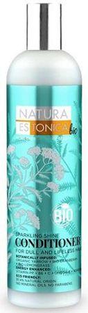 Natura Estonica Hajkondicionáló ragyogó fényt 400 ml