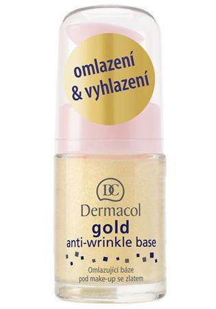 Dermacol Omladzujúca báza pod make-up so zlatom (Gold Anti-Wrinkle Base) 15 ml
