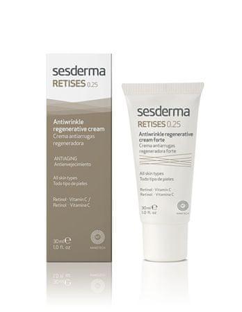 Sesderma Frissítő krém Retises és C-vitamin Retises (Antiwrinkle Regenerative Cream) 30 ml