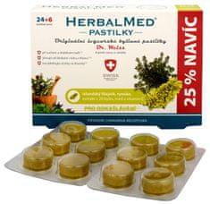 Simply you HerbalMed pastilky Dr. Weiss pre odkašliavanie 24 pastiliek + 6 pastiliek ZADARMO