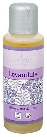 Saloos Bio telový a masážny olej - Levanduľa (Objem 125 ml)