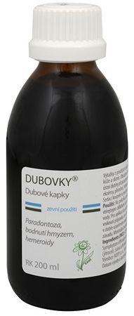 Dědek Kořenář Dubovky - dubové kapky RK 200 ml
