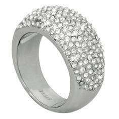 DKNY Luksusowy pierścionek z kryształami NJ1561040
