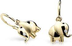 Cutie Jewellery Dzieci kolczyki C1955-10-10-X-1 żółte złoto 585/1000