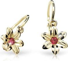 Cutie Jewellery Gyermek fülbevaló C1993-10-X-1 sárga arany 585/1000