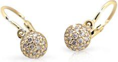Cutie Jewellery Dzieci kolczyki C2150-10-X-1 żółte złoto 585/1000