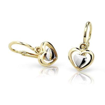 Cutie Jewellery Dzieci kolczyki C1604-10-X-1 żółte złoto 585/1000