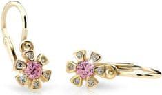 Cutie Jewellery Gyermek fülbevaló C2156-10-X-1 sárga arany 585/1000